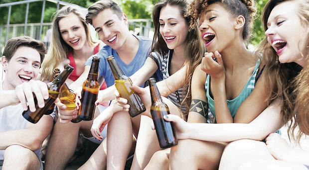 Cheers mum: Many parents serve up alcohol to their children