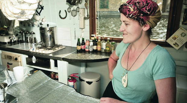 All aboard: Lorraine Fox has realised her dream of bringing her cafe back to Northern Ireland