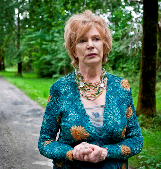 Author Edna O'Brien