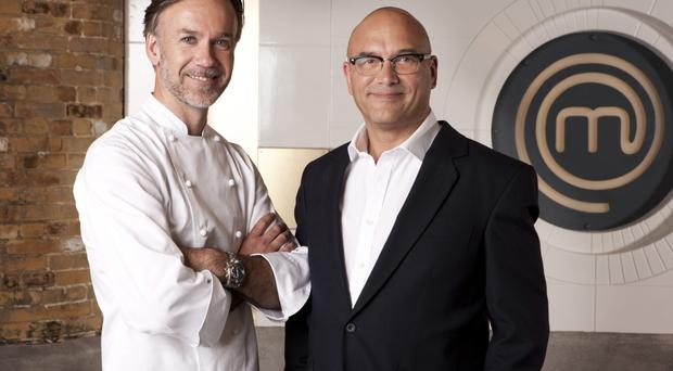 MasterChef judges Marcus Wareing and Greg Wallace