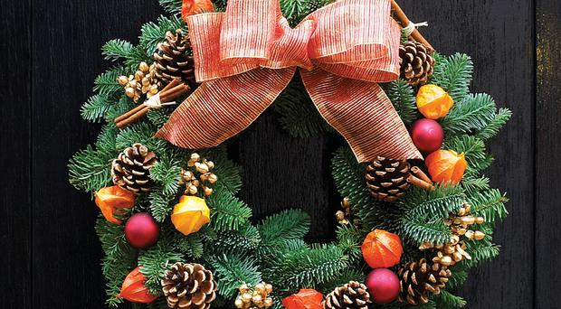 Feeling Festive: A Christmas Wreath