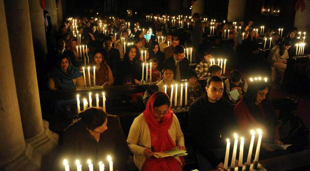 A vigil held for children killed in Pakistan this week