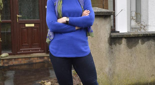 All change: nutritionist Jane McClenaghan is thrilled with her achievements