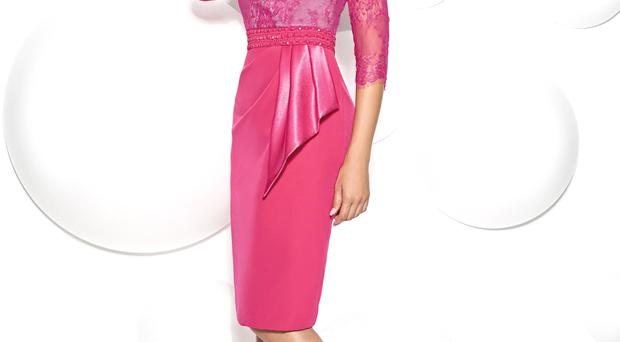 Cabotine dress with lace, €739/ £590