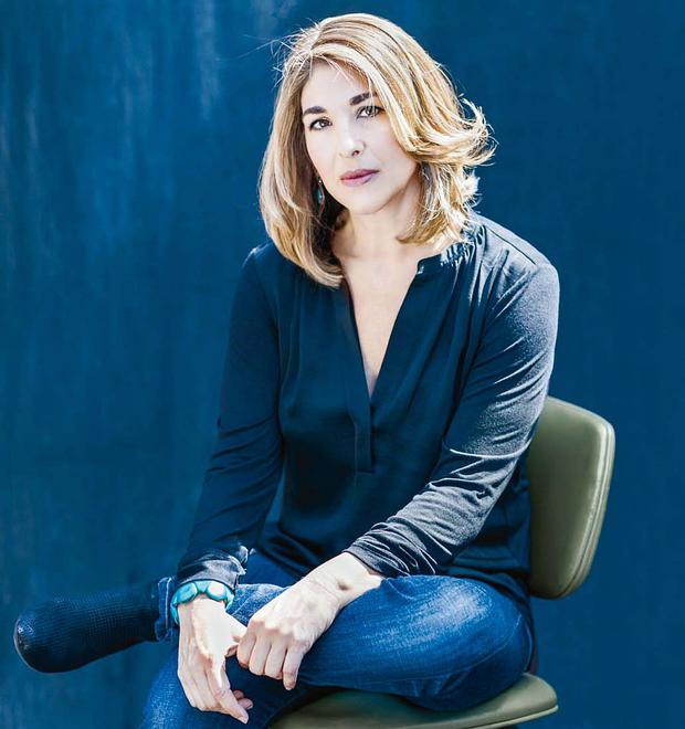 Strong words: Naomi Klein has a message for the Prime Minister