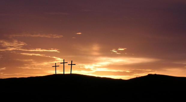 Global concern: Jesus was crucified on Good Friday and, to this day, Christians are still being attacked