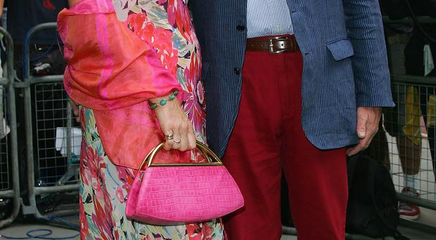Colourful duo: Neil and Christine Hamilton have led eventful lives