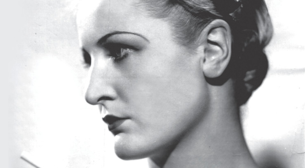 A studio portrait of Theodora taken in 1939