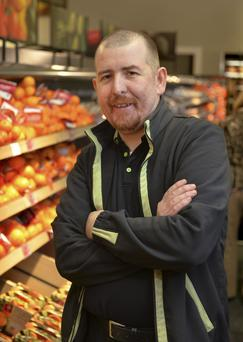 Not just any job: Ciaran Phoenix has been working for M&S for 10 years