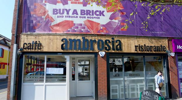 Ambrosia's welcome is sadly as charmless as its food