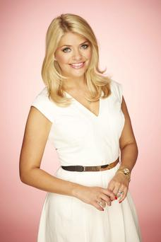 Busy mum: Holly Willoughby
