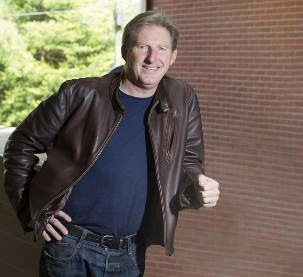 Theatre of dreams: Adrian Dunbar has based his latest TV detective partly on former Manchester United boss Sir Alex Ferguson