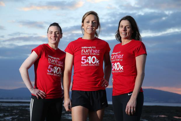 Talented trio: from left, Mairead Tennyson, Caroline O'Hagan and Bronagh McAfee
