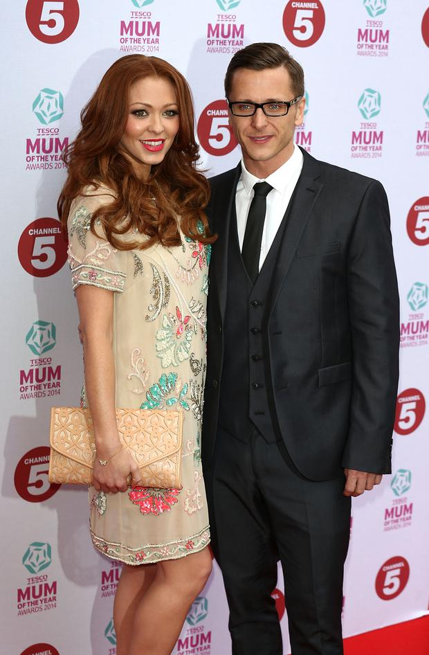 Natasha Hamilton with Ritchie Neville