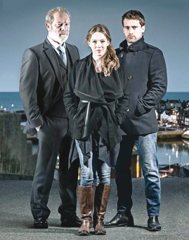 Peter Mullan with Charlotte Spencer and Christian Cooke