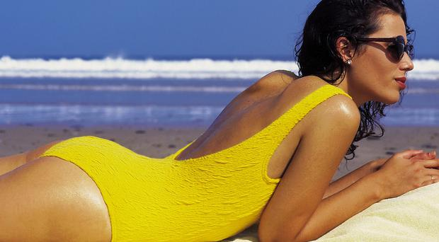 Protect yourself: when in the sun, you should always wear sunscreen and apply it regularly