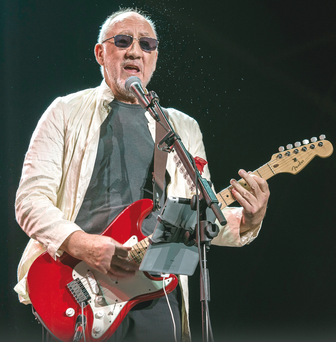 Rock God: Pete Townshend on stage