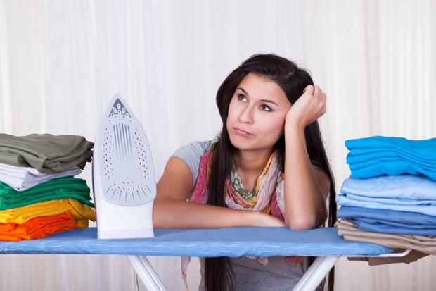 Stressing out: it's easy to get bogged down by worrying about everyday tasks