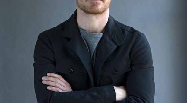 Michael Fassbender promoting his new film
