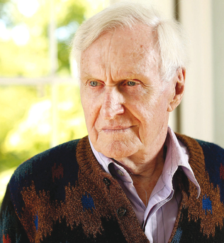 John Boorman at his house in Annamoe