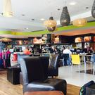 The Harvest Market Cafeteria at George Best Belfast City Airport
