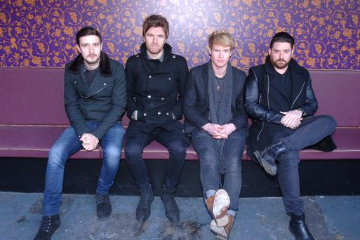 Fab four: the Dublin quartet Kodaline