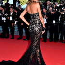 Big time: Jourdan on the red carpet at Cannes this year