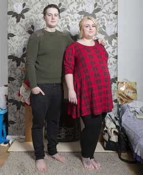 Baby joy: Brooke Forster and Tim Bridgewater who appear on the next series of One Born Every Minute