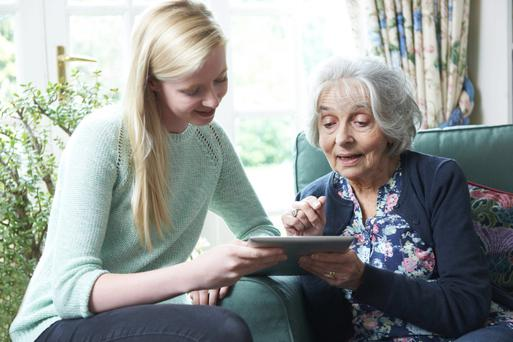 Keeping track: relatives could help the elderly with the app