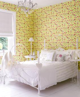 Mazarine by Albany festival wallpaper, £17.50 a roll, Wallpaper Direct