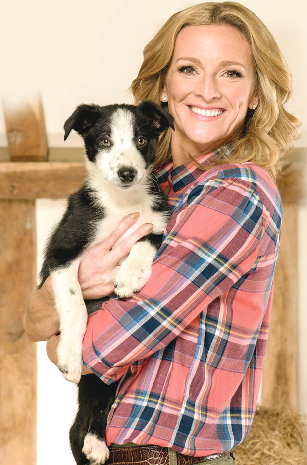 Flockstars host Gabby Logan