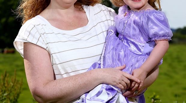Looking ahead: Louise Boyd with her youngest daughter, Sophie
