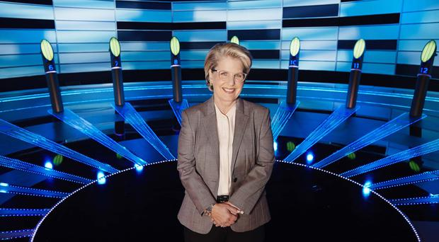Familiar face: Sandi Toksvig has been a regular on our TV screens for decades