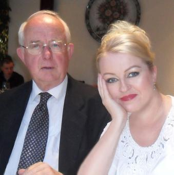 Role reversal: Frances now helps to look after her father
