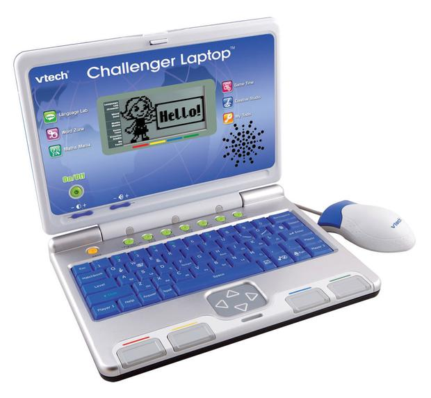 Challenger Laptop, £27.99, www.vtech.co.uk