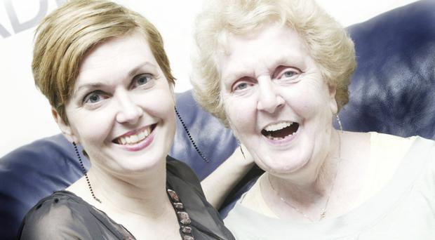 Strong bond: Marie-Louise Muir and her mother Carita Kerr