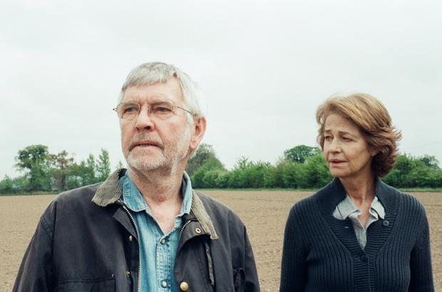 Close bond: Tom Courtenay and Charlotte Rampling