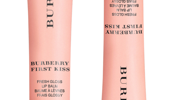 Burberry First Kiss Fresh Gloss Lip Balm in Soft Peach