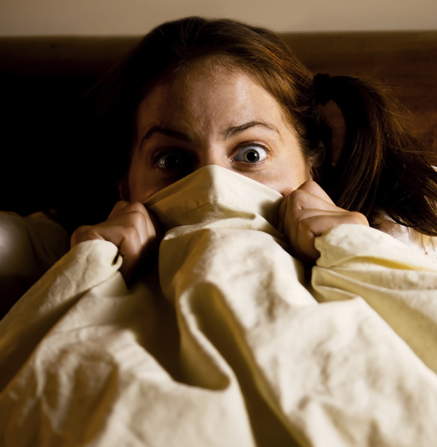 Fright night: many of us regularly have bad dreams