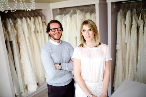 Business partners: Rachel and Stephen Morgan