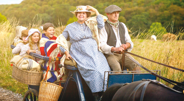 Samantha Morton and her co-stars in Cider With Rosie