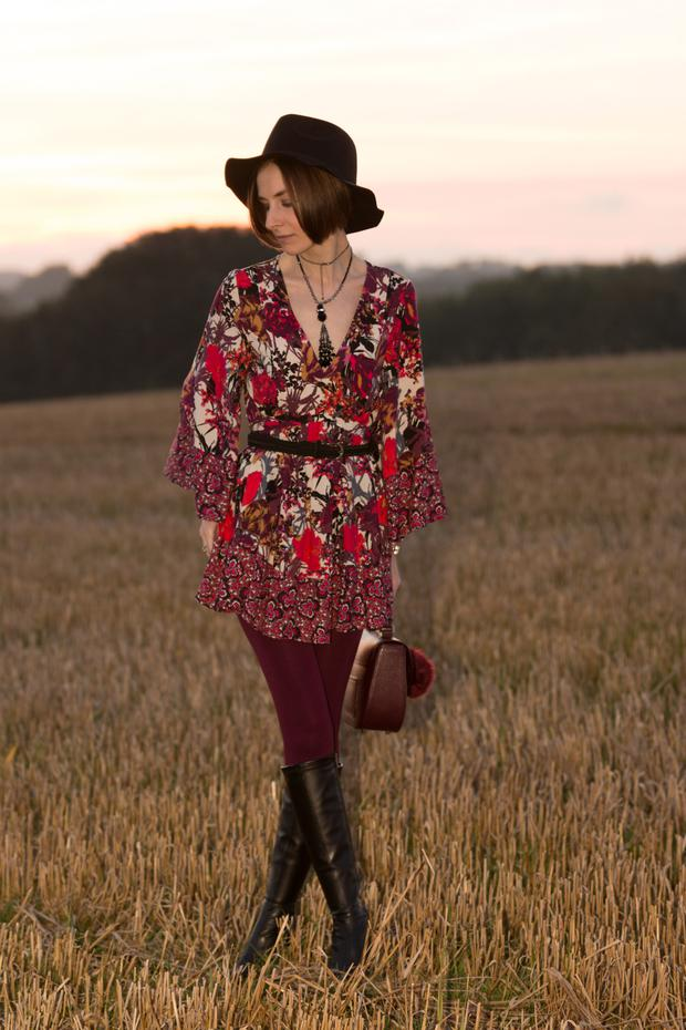 Folk trend: Louise Vance's Look 1