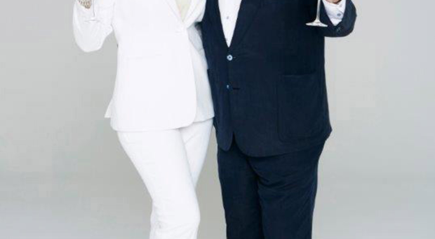 Champagne lifestyle: Eamonn Holmes and Ruth Langsford