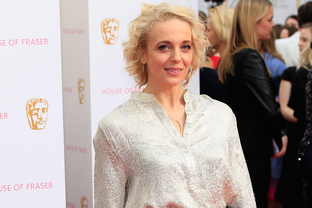 Busy lady: Amanda Abbington is enjoying a hectic work schedule