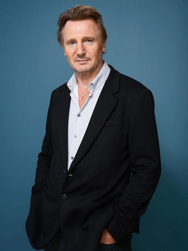 Celeb cool: Liam Neeson has been criticised for his support for some causes