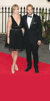Ben Fogle with his wife of 10 years Marina