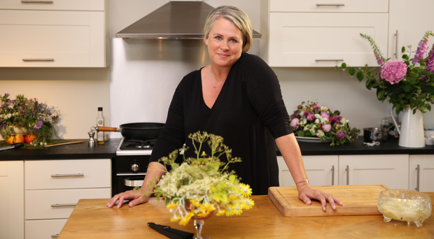 Kitchen craft: Trish Deseine, who has sold over one million cookbooks, is presenting a new BBC NI series starting tonight
