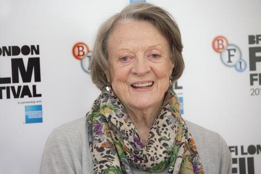 Keeping busy: Dame Maggie Smith