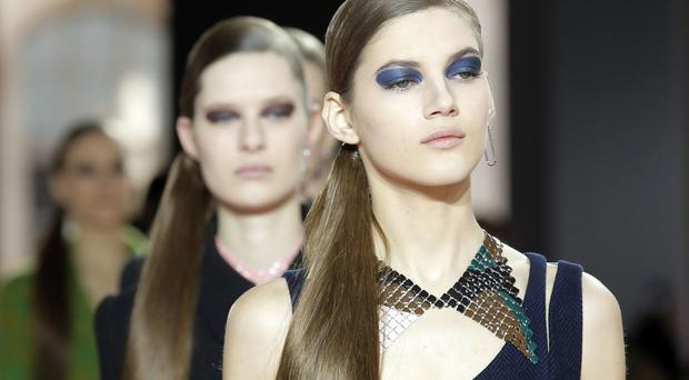 Eye-catching: Dior's ready to wear fall-winter 2015-2016