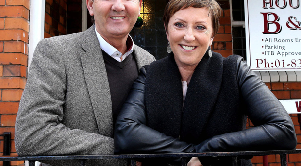 Light-hearted stuff: Daniel and Majella